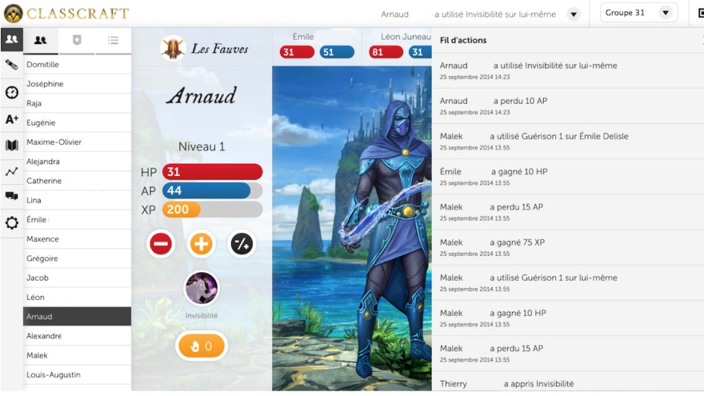Capture Classcraft De Rochebelle David Martel-6